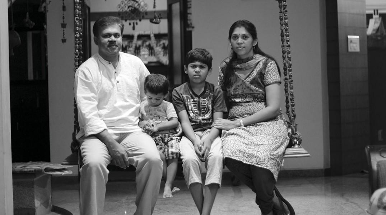 Sunil_familie