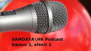 Samdata Podcast. Mikrofon.