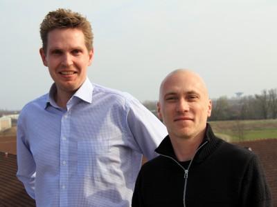 Michael Daldorph og Lars Frederiksen (Foto: Ernst Poulsen)