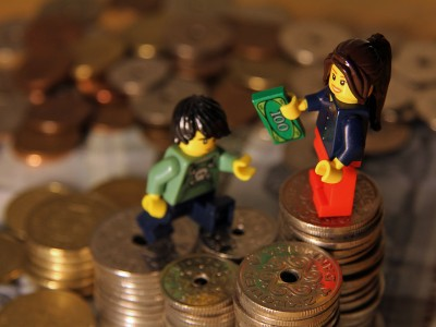 Løn. Penge. Statistik