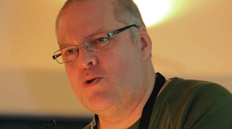 Thomas Bisballe. Foto: Ernst Poulsen